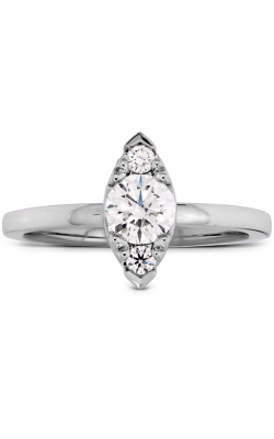 Purely Bridal Rose Solitaire Engagement Ring product image