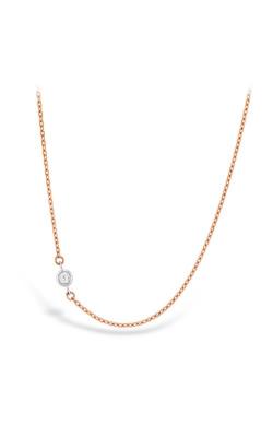 HOF Signature Off-Set Single Bezel Necklace product image