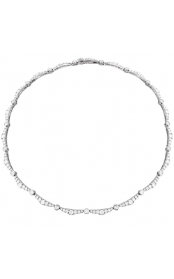 Lorelei Ribbon Diamond Line Necklace product image
