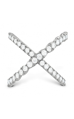 Lorelei Diamond Criss Cross Ring product image