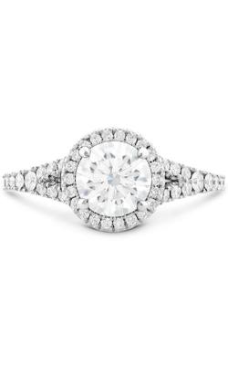 Transcend Premier HOF Halo Split Shank Engagement Ring product image