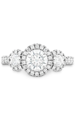 Integrity HOF Three Stone Engagement Ring product image