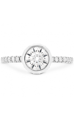 Deco Chic HOF Bezel Engagement Ring product image