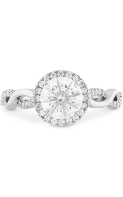 Destiny Lace HOF Halo Engagement Ring product image