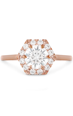 HOF Hexagonal Engagement Ring product image
