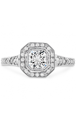 Deco Chic DRM Halo Engagement Ring HBRDECDH00658WAA-C product image