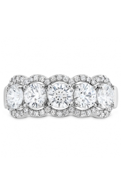 1.55 Ctw. Aurora Five Diamond Band In 18K White Gold product image