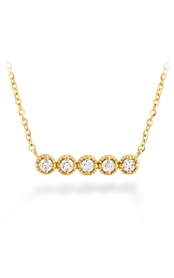 Liliana Milgrain Diamond Bar Necklace product image
