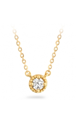 Liliana Milgrain Single Diamond Pendant product image