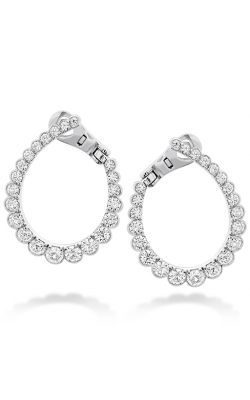 Aerial Regal Diamond Hoop Earrings product image