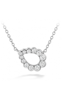 Aerial Regal Scroll Teardrop Necklace product image