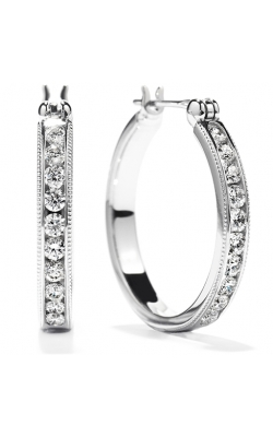 Milgrain Hoop Earrings product image