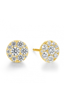 0.34 ctw. Tessa Diamond Circle Earrings in 18K Yellow Gold product image