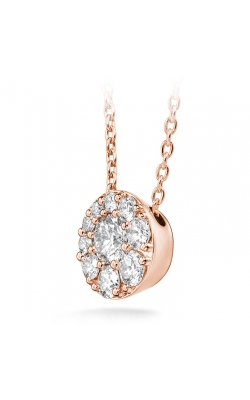 0.25 Ctw. Tessa Diamond Circle Pendant In 18K Rose Gold product image