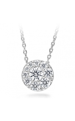 0.25 ctw. Tessa Diamond Circle Pendant in 18K White Gold product image