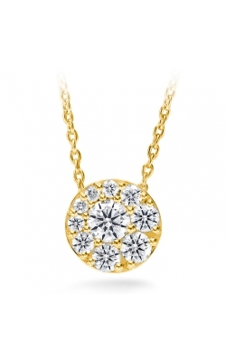 0.25 ctw. Tessa Diamond Circle Pendant in 18K Yellow Gold product image