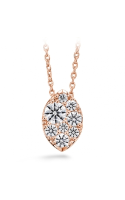 0.25 Ctw. Tessa Diamond Navette Pendant In 18K Rose Gold product image