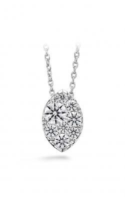 0.5 ctw. Tessa Diamond Navette Pendant in 18K White Gold product image