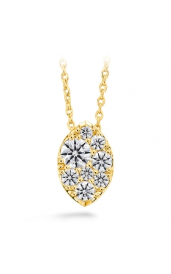 0.5 ctw. Tessa Diamond Navette Pendant in 18K Yellow Gold product image