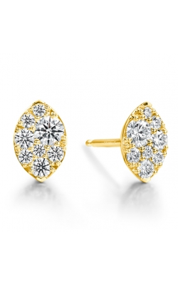 0.34 ctw. Tessa Navette Earrings in 18K Yellow Gold product image