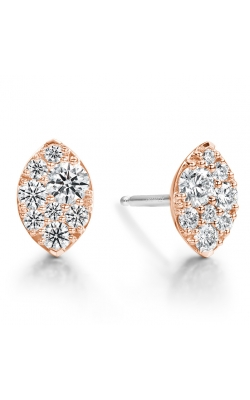 0.5 Ctw. Tessa Navette Earrings In 18K Rose Gold product image