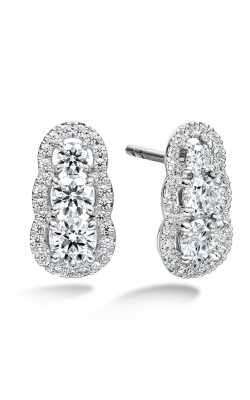1.27 ctw. Aurora  Earrings in 18K White Gold product image