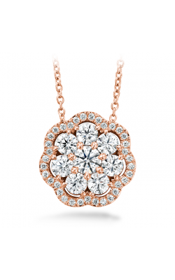 1.45 Ctw. Aurora Cluster Pendant In 18K Rose Gold product image