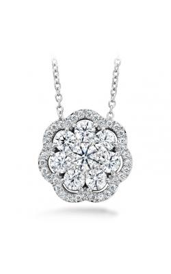 1.45 ctw. Aurora Cluster Pendant in Platinum product image