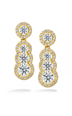 2.81 ctw. Aurora Drop Earrings in 18K Yellow Gold product image