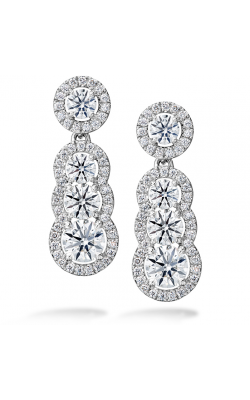 2.81 ctw. Aurora Drop Earrings in Platinum product image
