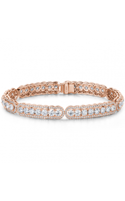 8.8 Ctw. Aurora Line Bracelet In 18K Rose Gold product image