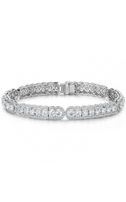 8.8 ctw. Aurora Line Bracelet in 18K White Gold product image