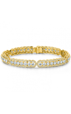 8.8 ctw. Aurora Line Bracelet in 18K Yellow Gold product image