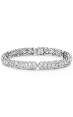 8.8 ctw. Aurora Line Bracelet in Platinum product image