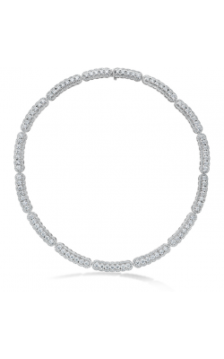 20.21 ctw. Aurora Line Necklace in Platinum product image