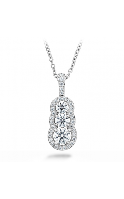 0.77 ctw. Aurora Pendant - Small in 18K White Gold product image