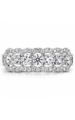 0.94 ctw. Aurora Seven Diamond Band in 18K White Gold product image