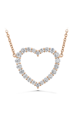 Signature Heart Pendant - Large in 18K Rose Gold product image