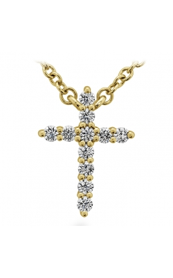 Signature Cross Pendant - Small HFPSIGCR00118Y product image
