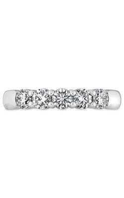 Signature 5 Stone Band in 18K White Gold Wedding Band HBASIG500758W-C product image