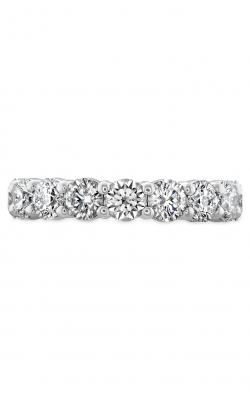 Signature 9 Stone Band In 18K White Gold Wedding Band HBASIG901008W-C product image