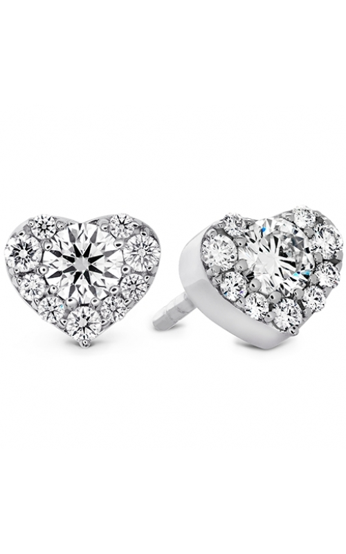 Fulfillment Heart Stud Earrings product image