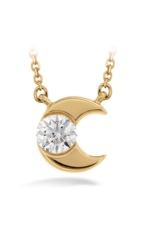Charmed Half Moon Pendant product image
