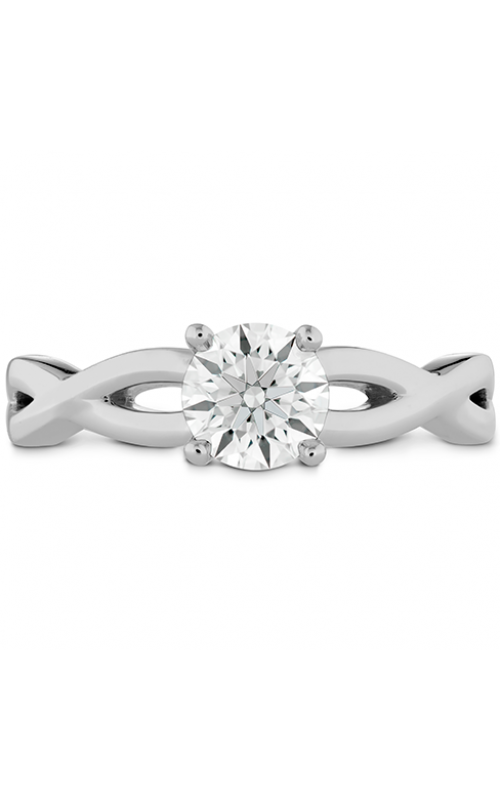Destiny Twist Solitaire Engagement Ring product image