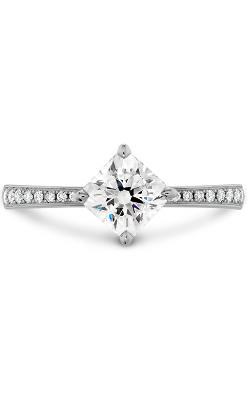 Dream Offset Signature Engagement Ring-Diamond Band product image