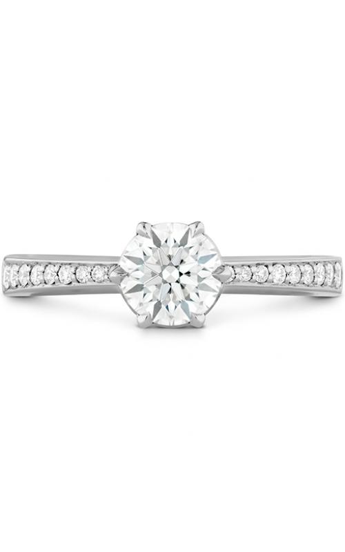 HOF Signature 6 Prong Engagement Ring - Diamond Band product image