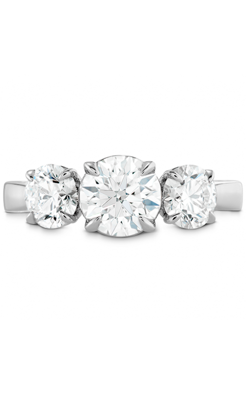 HOF Signature Classic Three Stone Engagement Ring product image