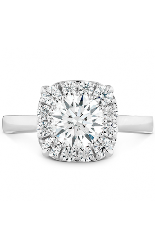HOF Signature Custom Halo Engagement Ring product image