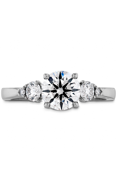 HOF Signature Three Stone Engagement Ring product image