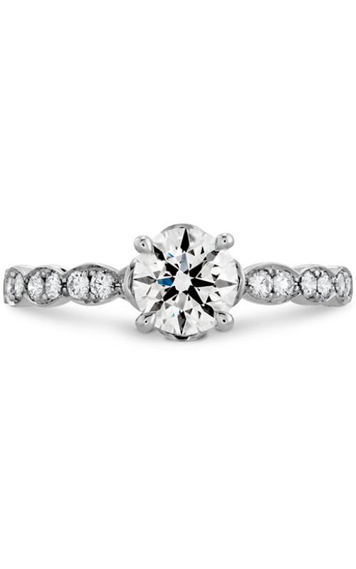Lorelei Floral Engagement Ring-Diamond Band product image